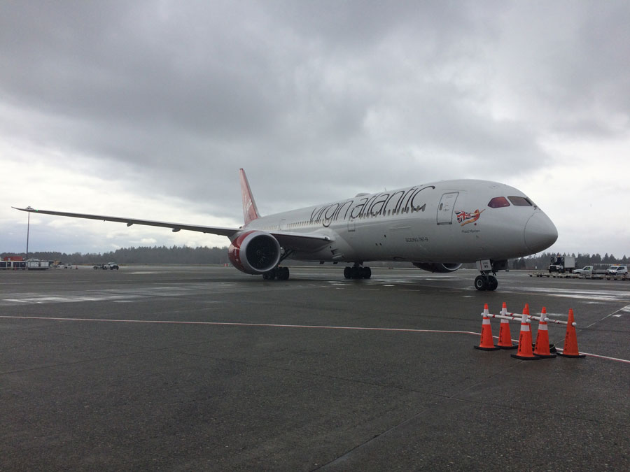 Port of Seattle Welcomes New Virgin Atlantic Service to