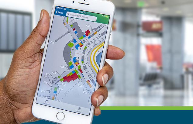 Αποτέλεσμα εικόνας για Port of Seattle announces release of new Sea-Tac Airport app