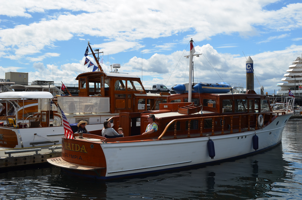 Classic Weekend Brings Vintage Yachts to Bell Harbor Marina