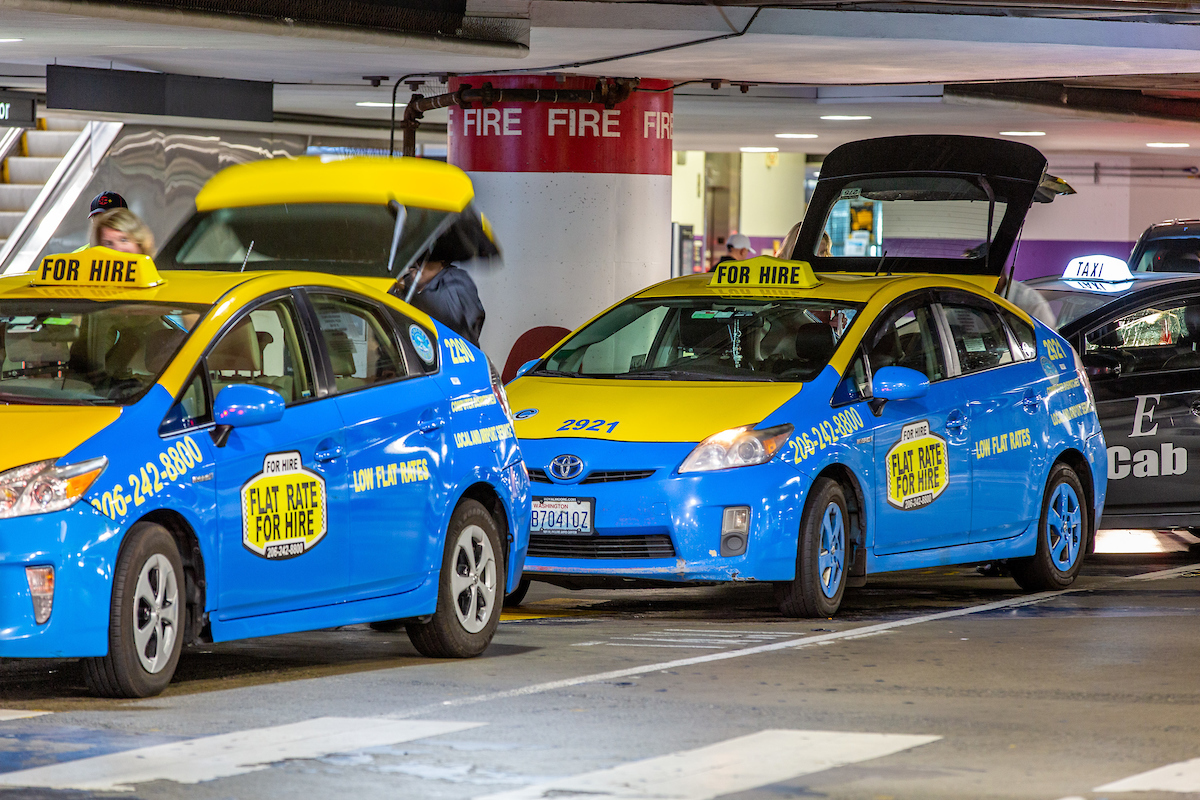 Flat Rate Taxis | Port of Seattle