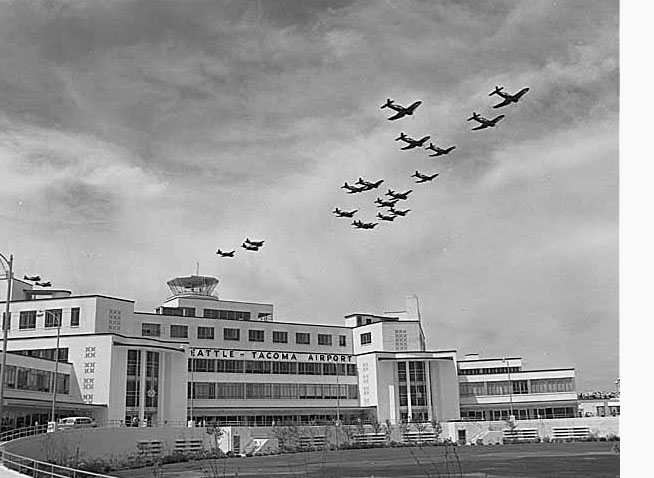 Sea-Tac Airport dedication on July 9, 1949.
