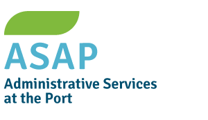 Logo for Administrative Services at the Port