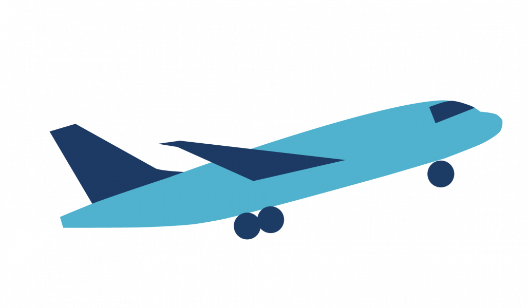 Aircraft Taking Off Graphic