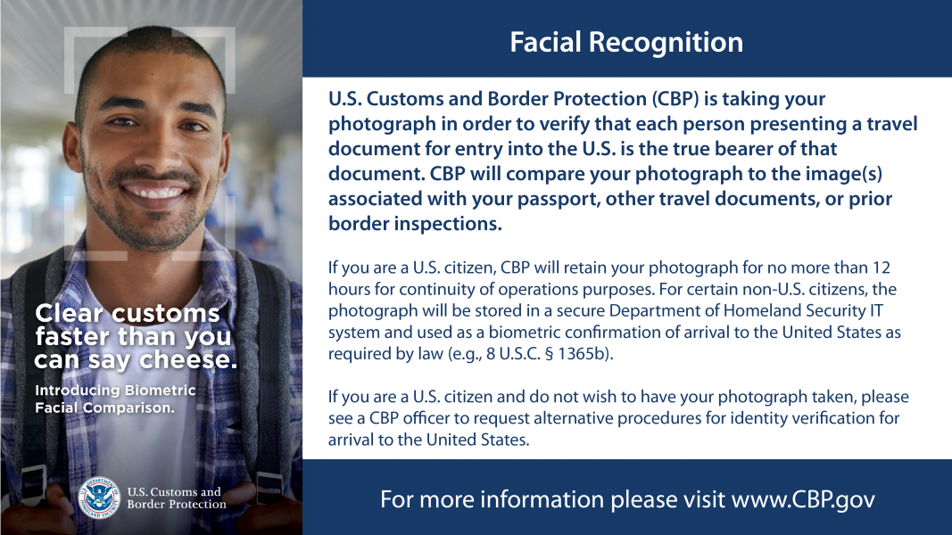 CBP Facial Recognition