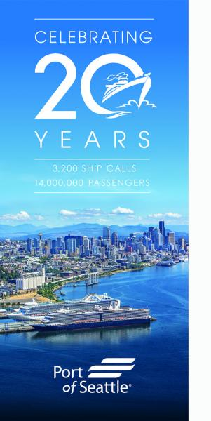 Cruise Seattle 20th Anniversary Banner