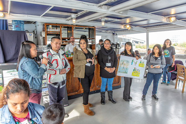 Presentations at Duwamish Boat Tour