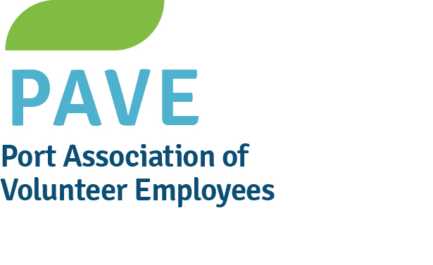 Logo for Port Association of Volunteer Employees (PAVE)