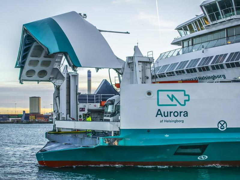 Electric ferry Aurora