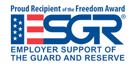 The Port of Seattle is a proud recipient of the ESGR Freedom Award
