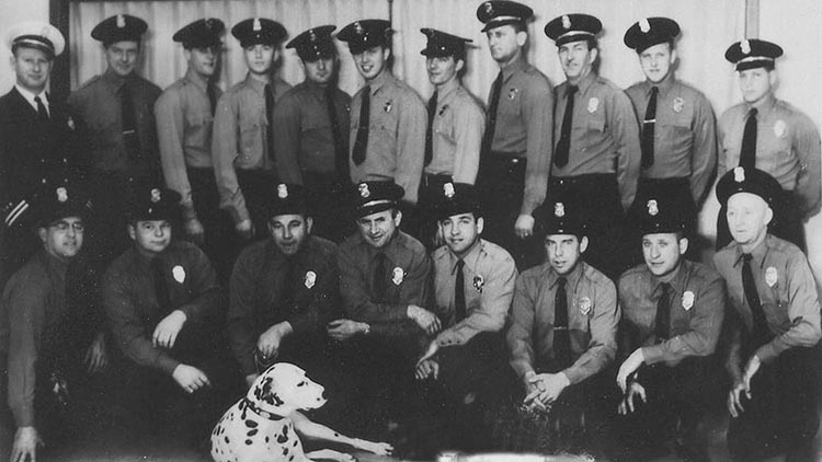 1959 Port of Seattle Fire Crew