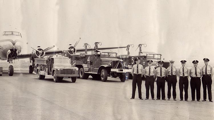 1950s Port of Seattle Fire Department