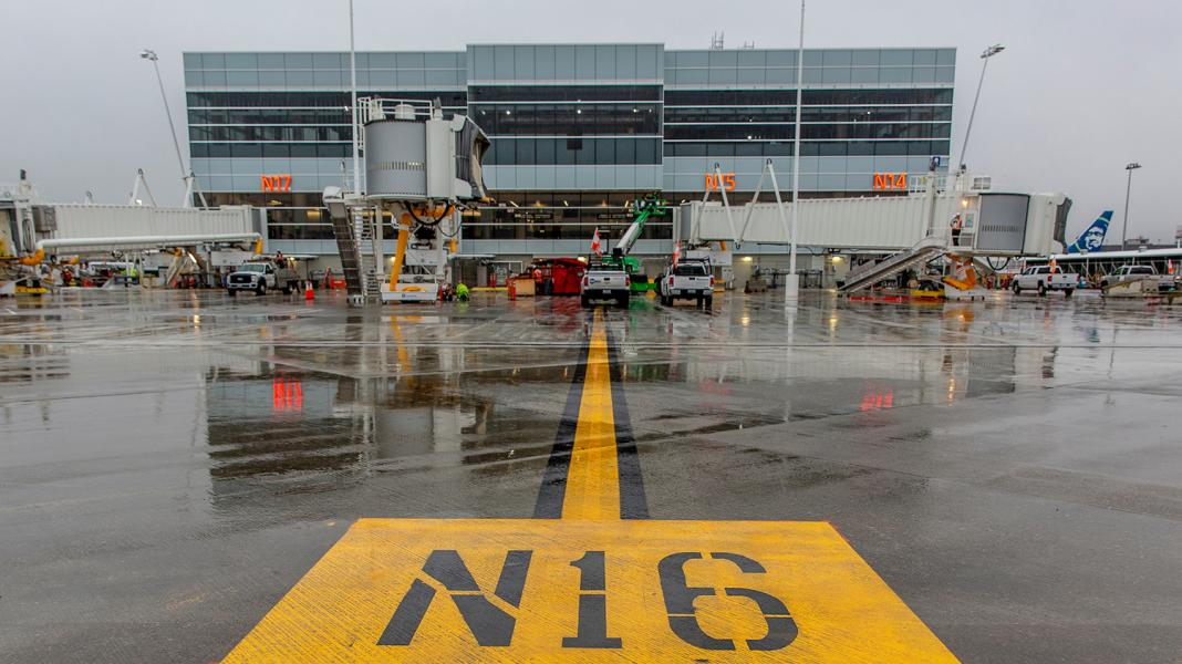 Five Gates Now Open At Sea Tac Airport S North Satellite