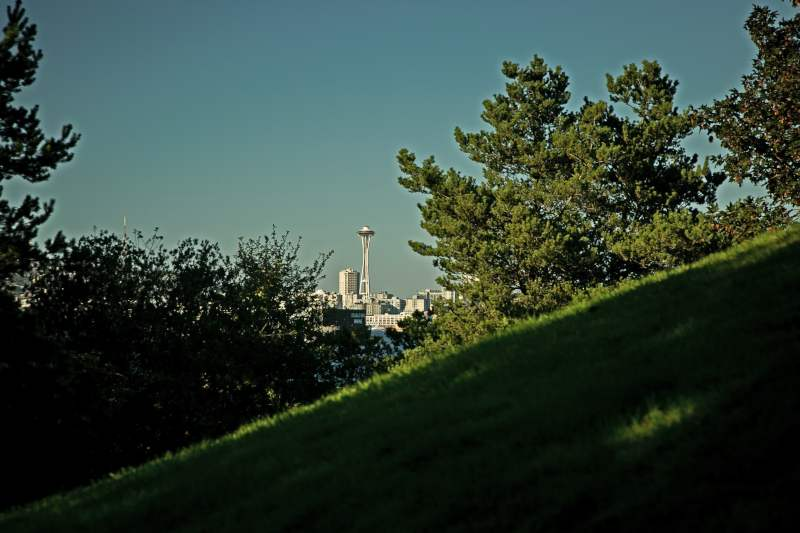 Space Needle from Jack Block Park