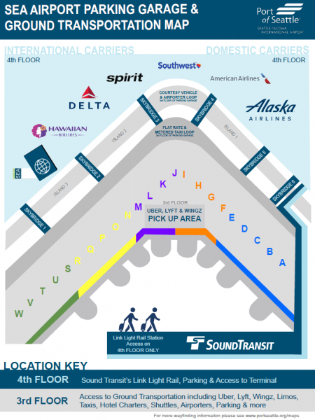 seatac airport arrivals map Seattle Airport Gate Map Seattle Airport Map Seatac 2020 02 15 seatac airport arrivals map