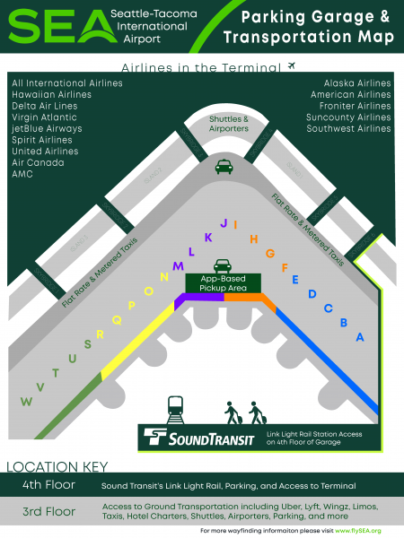 Parking Garage Map