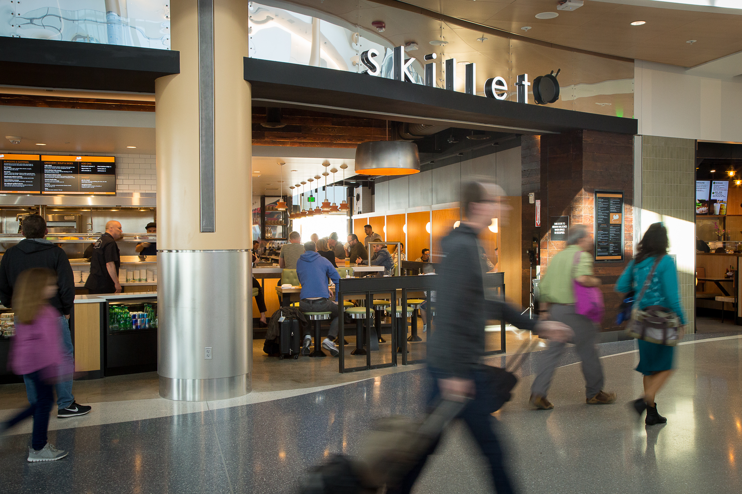 Dining And Retail Redevelopment At Sea Port Of Seattle