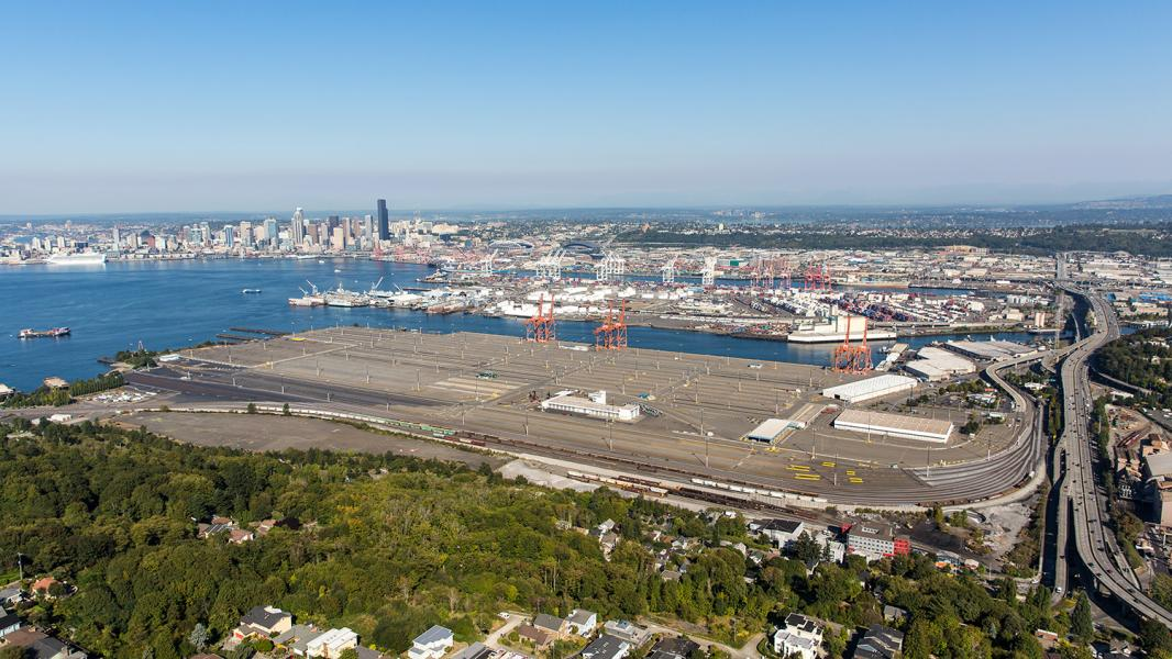Empty container Terminal 5 at the Port of Seattle stands ready for modernization to stay competitive