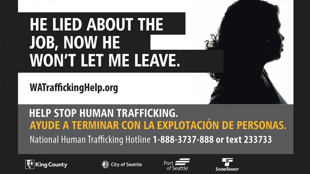 Human Trafficking Awareness Campaign Poster