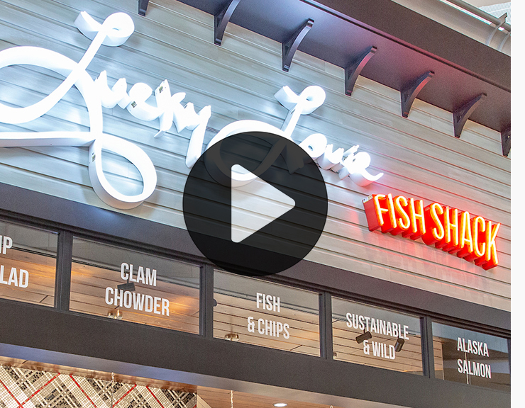 Checking in with Lucky Louie Fish Shack video