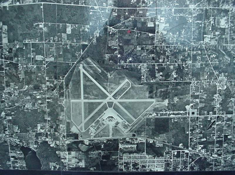 Aerial shot of Sea-Tac 1948