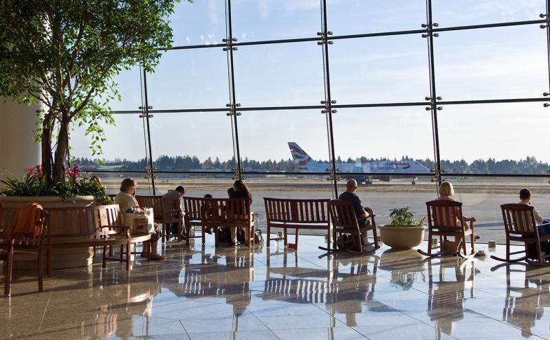 Sea-Tac Airport Central Terminal